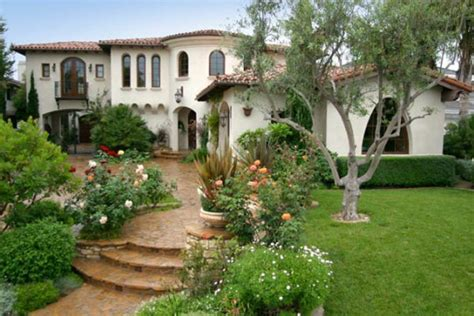 spanish villa style homes spanish style outdoor entry home decorating ideas