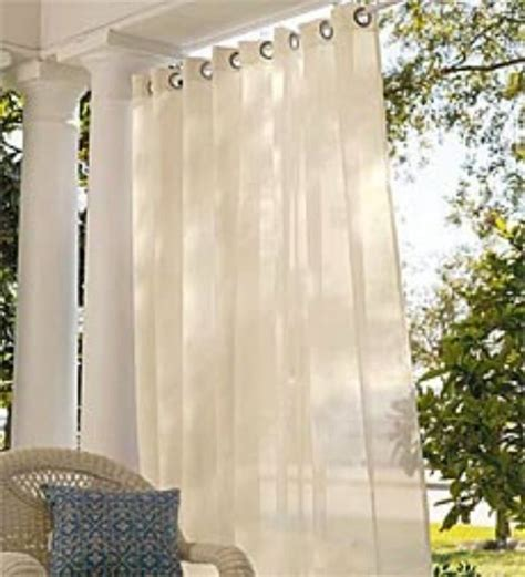screen porch weather curtains outdoor curtains deck and patio ideas pinterest