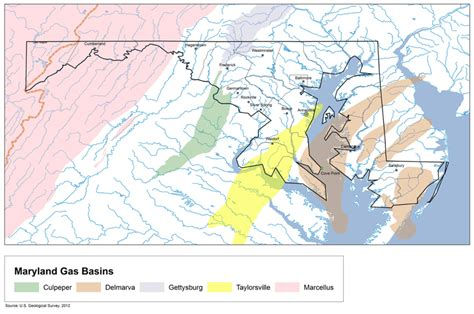 maryland fracking map ban fracking in frederick county clean water