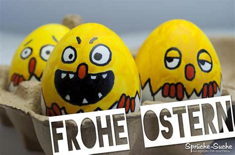 frohe ostern lustige bemalte eier sprueche suche