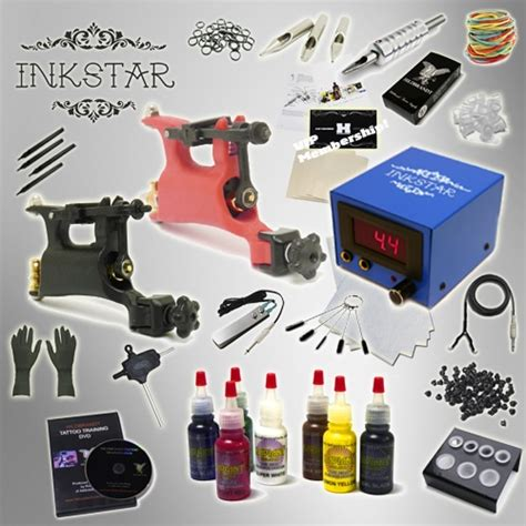 complete tattoo kit professional inkstar 2 machine rotary
