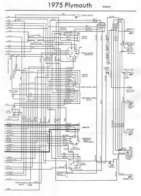 duster wiring diagram   bodies  mopar forum