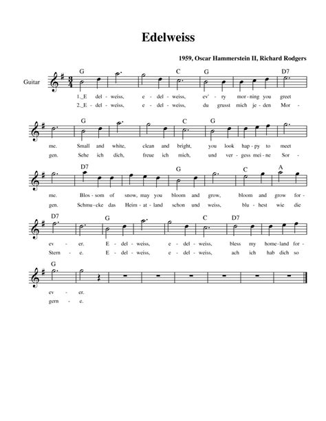tattooed heart sheet music pdf edelweiss a song always close to my heart xxxxx my