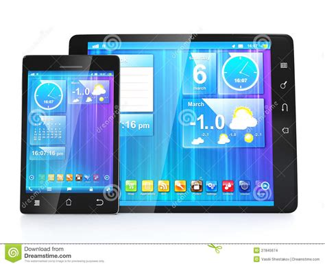 design your app for tablets create mobile apps for tablets stock images image 27845674