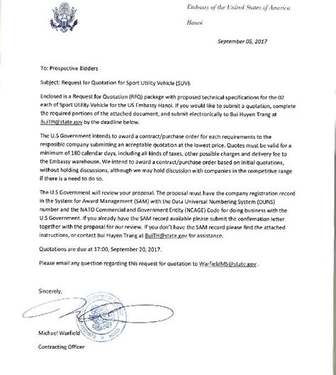 cuban embassy letter of invitation sle business