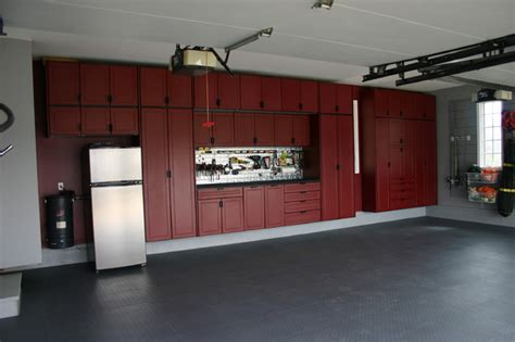 Hanging Wall Dividers by Garage Cabinets Chicago By Pro Storage Systems