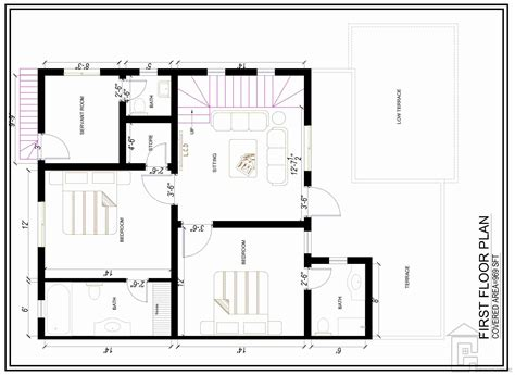 8 marla house plan design gharplans pk