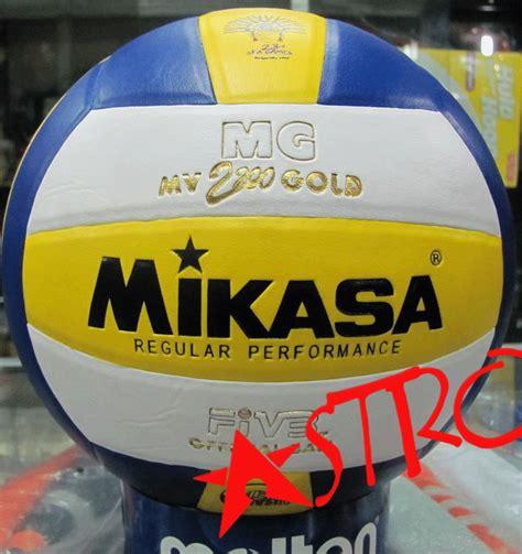 Wow Bola Voli Mikasa Mv 2200 Gold Original Volly Volley Baru Astro Bola Voli Mikasa Mv 2200 Gold
