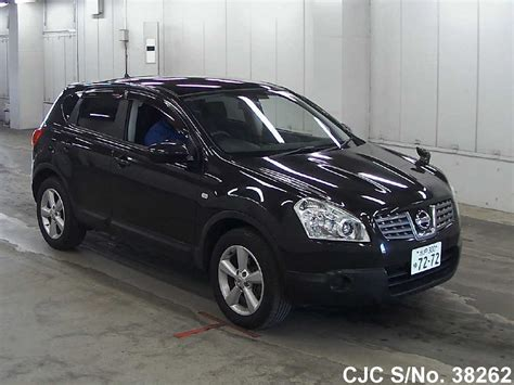 nissan dualis black 2008 nissan dualis black for sale stock no 38262