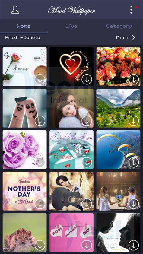 Mood Wallpaper App