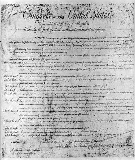 bill of rights section 12 history today december 15 2017