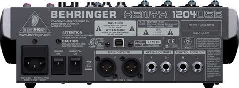 Mixer Behringer Xenyx X1204 Usb behringer xenyx x1204 usb mixer altomusic