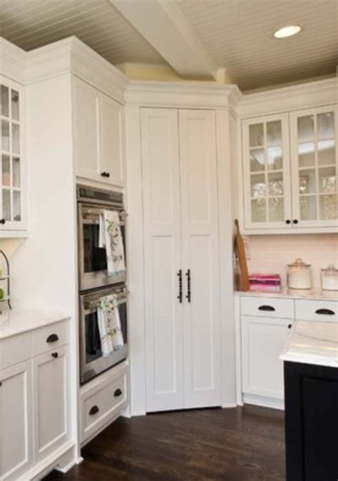 Kitchen Corner Pantry Ideas Corner Pantry House Ideas Kitchen Pinterest