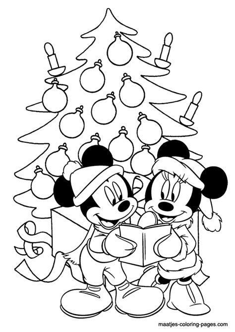coloring pages christmas mickey mouse minnie mouse christmas coloring pages