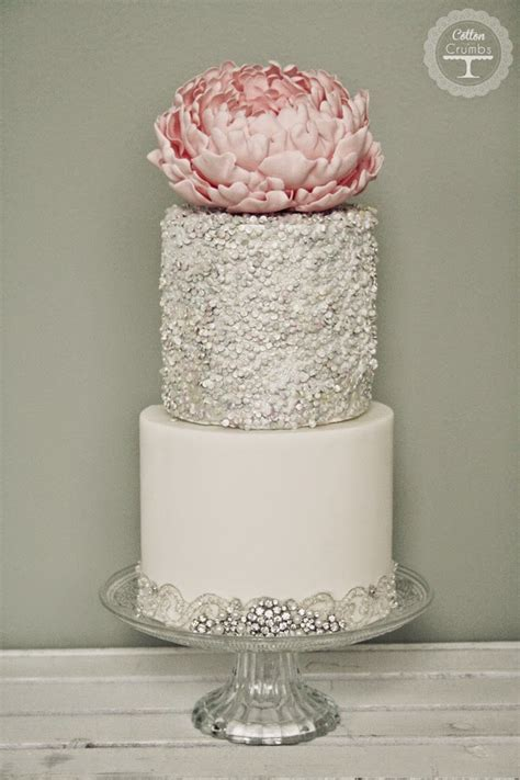 about weddings wedding trends metallic cakes the magazine