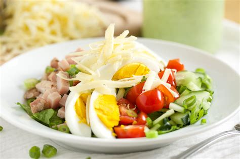 salad chef chef s salad with avocado ranch dressing get inspired