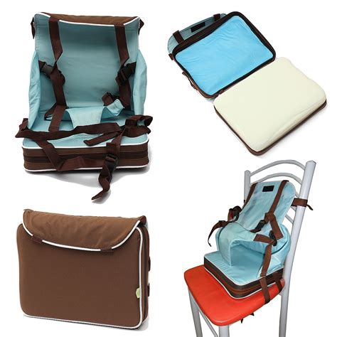 portable baby booster seat travel high chair foldable