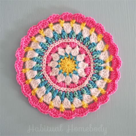 imagenes mandalas a crochet what s on my hook a mandala croch 234 mandalas e mandala