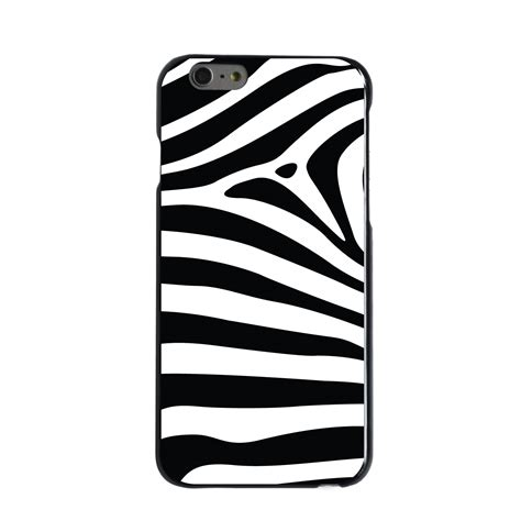 Limited Iphone 7 Zebra Pattern Hardcase Casing Cover custom cover for iphone 5 5s 6 6s plus black white zebra skin stripes ebay