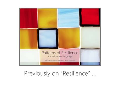 Resilience Reloaded More Resilience Patterns | resilience reloaded more resilience patterns