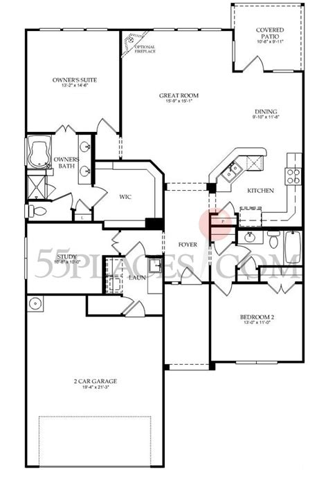 del webb floor plans copper ridge floorplan 1628 sq ft del webb