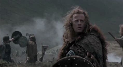 to the highlander photo of christopher lambert as quot connor the highlander