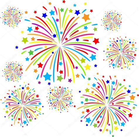 clipart fuochi d artificio fuochi d artificio vettoriali stock 169 longquattro 31415583