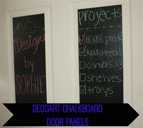 chalkboard paint coverage decoart chalkboard door panels a craft in your day
