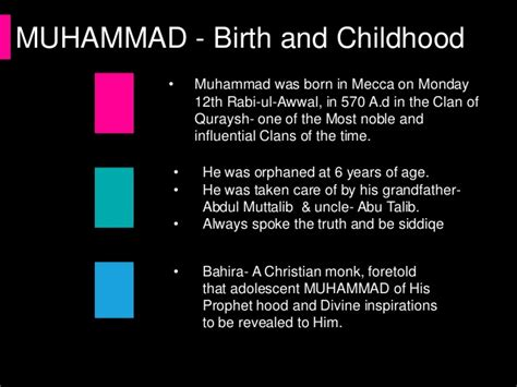 biography of prophet muhammad in english life of holy prophet pbuh