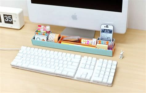 diy desk organization 25 clever ways to keep your workspace organized brit co