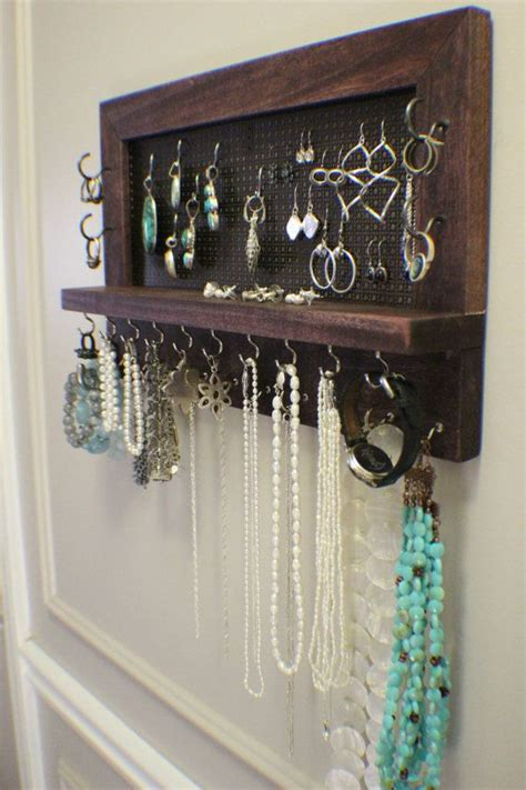 how to make a jewelry hanger 25 best ideas about jewelry organizer wall on