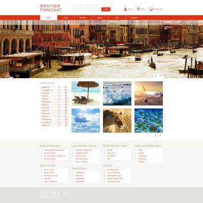 bootstrap weather template weather bootstrap themes templatemonster