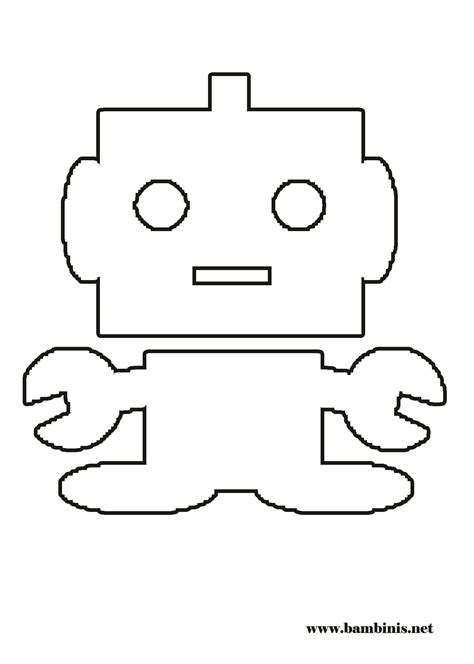 robot cat coloring page robot coloring page bambinis