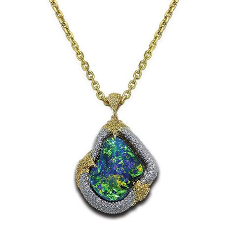 opal necklaces jewelry designs product