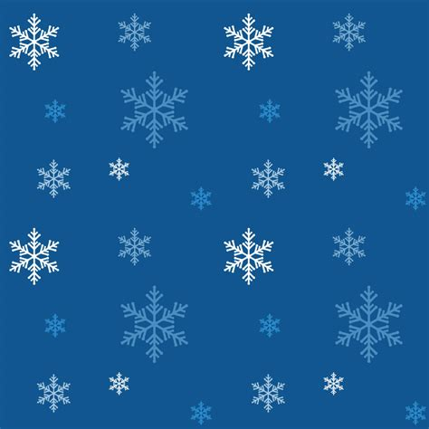 snowflakes seamless patterns vector tiles