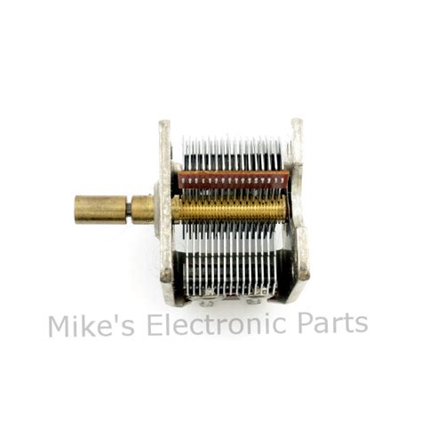 electronically variable capacitor 384pf air variable capacitor with 8 1 planetary reduction drive mike s electronic parts