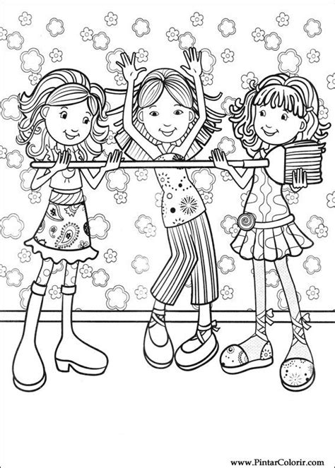 Groovy Coloring Pages Free Free Desenhos Para Pintar E Colorir Groovy Girls Imprimir by Groovy Coloring Pages Free Free