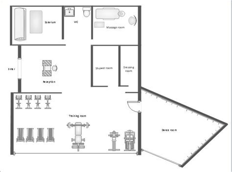 floor plan for gym pict gym equipment layout floor plan 640 215 474