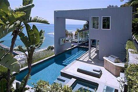 luxury house design in malibu ultra modern malibu villa with outdoor pool spells luxury