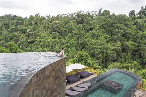 hanging infinity pools bali high tea at hanging gardens of bali ubud bali bel