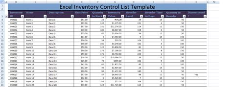 inventory list excel template excel inventory list template xls