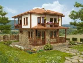 One Floor House Plans In Kerala 2 Piani Casa Bulgara Tradizionale
