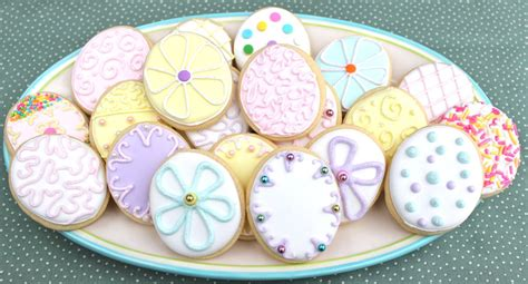 decorated easter cookies easter cookies big a a