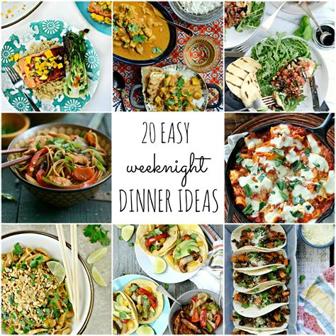 easy dinner meal ideas simply scratch 20 easy weeknight dinner ideas simply scratch