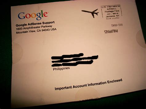 adsense letter how does google adsense pin letter look like techpinas