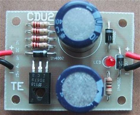 capacitor discharge unit for model railways capacitor discharge unit 2
