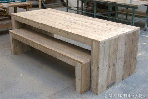 steigerhouten tafel 4 meter steigerhouten meubels tafel loungebank werkspot