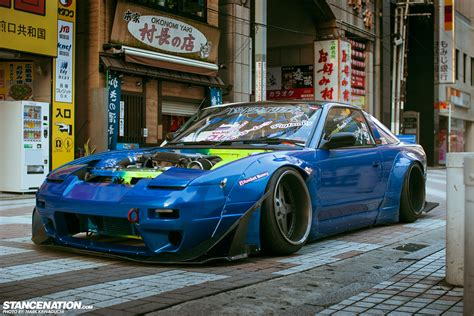 nissan 240sx rocket bunny team bad quality nakagawa s amazing 180sx
