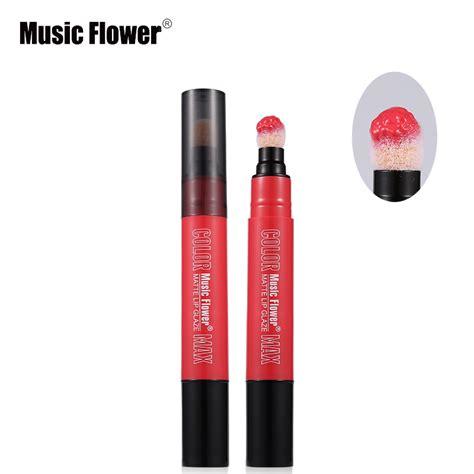 Lipstick 6 Matte 24 Hours aliexpress buy flower brand makeup rotating soft cushion sponge lipstick matte 6