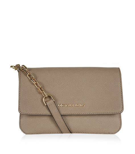 Michael Kors Shoulder Flap Bag by Michael Michael Kors Selma Flap Shoulder Bag In Beige Lyst